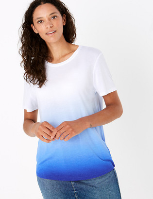 Marks and Spencer Colour Block Relaxed T-Shirt