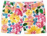 Crazy 8 Floral Jean Shorts