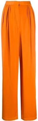 Christian Wijnants high-rise wide leg trousers