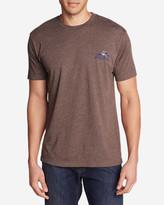 Eddie Bauer Men's Graphic T-Shirt - Shuksan Canoes