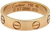 Cartier Mini Love 18K Rose Gold Ring Band US: 3.75 EU: 46