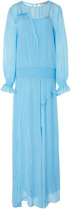 Preen Line Olivia Sheer Maxi Dress