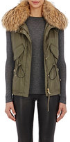SAM. Women's Fur-Trimmed Vest
