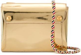Thom Browne Specchio Leather Envelope Bag