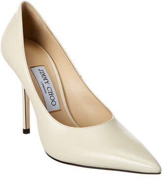 Jimmy Choo Ava 100 Leather Pump