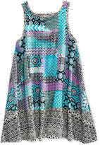 Roxy Multi-Pattern Dress, Big Girls (7-16)