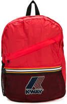 K Way Kids logo backpack