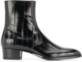 Saint Laurent Wyatt zipped boots