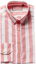 Thomas Pink Sutherland Slim Fit Linen-Blend Dress Shirt