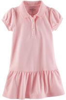 Osh Kosh Piqué Uniform Polo Dress