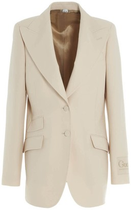 Gucci Single Breasted Blazer