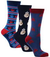 Cufflinks Inc. Rebel Droids 3-Pair Sock Gift Set