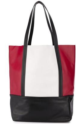 Plan C Color-Block Tote Bag