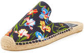 Tory Burch Max Embroidered Espadrille Mule