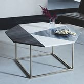 Marquetry Marble Coffee Table