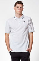 Nike SB Dri-FIT Pique Light Grey Polo Shirt