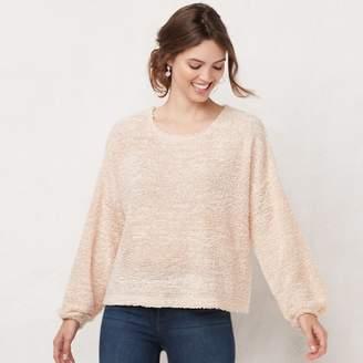 Lauren Conrad Women's Cozy Drop-Shoulder Sweater