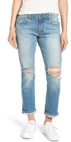 Paige Women's Brigitte Distressed Crop Boyfriend Jeans