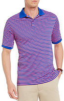 Daniel Cremieux Club 38 All Day Performance Stripe Short-Sleeve Polo Shirt