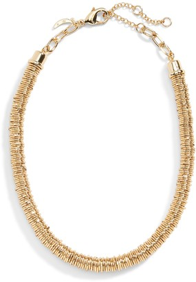Banana Republic Metal Disc Choker Necklace