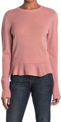 Frame Cinched Cashmere Sweater