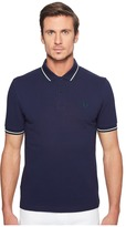 Fred Perry Slim Fit Solid Plain Polo Men's Short Sleeve Pullover