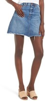 Blank NYC Women's Blanknyc Way Back When Cutoff Denim Skirt