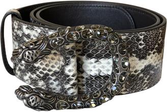 Gucci Dionysus Grey Water snake Belts