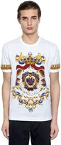 Dolce & Gabbana Printed Cotton Jersey T-Shirt