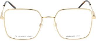 Tommy Hilfiger Square Frame Glasses