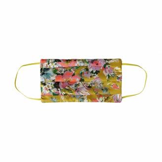 Codello Women's Maske mit Blumenmotiv aus Seide Silk Flower
