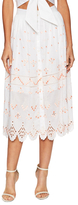 Temperley London Hika Cotton Skirt