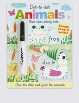 Marks and Spencer Dot-to-dot Animals Book