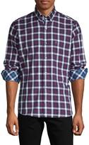 Tailorbyrd Long-Sleeve Plaid Shirt