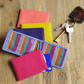 Undercover Leather Travel Card Holder
