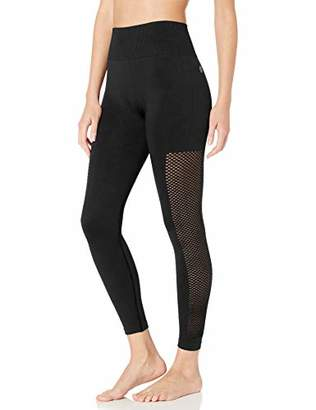 Core 10 Seamless High Waist Mesh Legging-26 Yoga Pants,S (4-6)