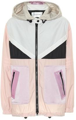 Valentino Cotton-blend jacket