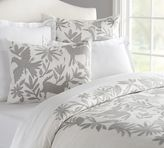 Pottery Barn Vibrant Embroidered Duvet Cover & Sham