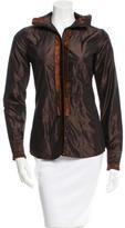 Etro Ruffled Silk Top