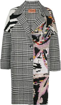 Missoni Contrast-Panel Cocoon Coat
