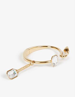 Fenty by Rihanna Roped In crystal-embellished gold-tone bracelet