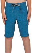 Volcom Boy's Magnetic Stone Board Shorts
