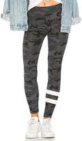 Sundry Stripes Yoga Pant in Black. - size 1 / S (also in 2 / M,3 / L)