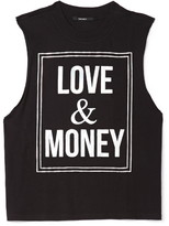 Forever 21 love & money muscle tee