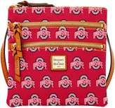 Dooney & Bourke Ohio State Buckeyes Triple Zip Crossbody Bag