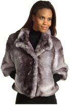 Calvin Klein Faux Fur Jacket (Silver) - Apparel