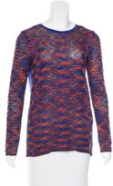 M Missoni Woven Patterned top