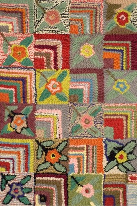 Crowley & Grouch Imports Gypsy Rose Woollen Rug