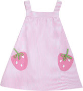 Florence Eiseman Seersucker Strawberry Dress