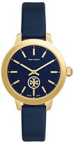 Tory Burch 'The Collins' Leather Strap Watch, 38mm
